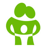 Family_pictogram4 Royalty Free Stock Photography