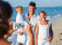 Family picture Royalty Free Stock Images