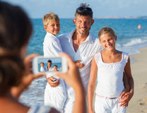 Family picture stock photography