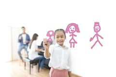 Family planning and love concept royalty free stock photography