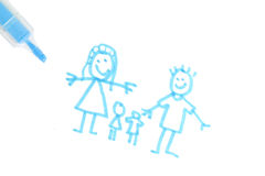 Family plans Royalty Free Stock Photo