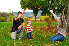 Family Playing Stock Photography