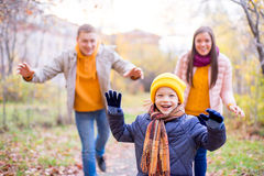 Free Family Playing Catch-up Stock Photos - 79675873