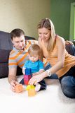 Family  playing together. Stock Photos