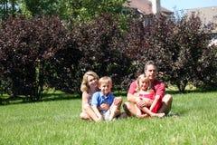 Family Plot Stock Photo