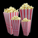 Family popcorn Stock Photography