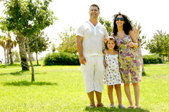 Family portarit Stock Photo