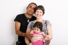 Family portrait. Stock Photo