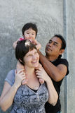 Family portrait. royalty free stock photography