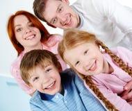 Family portrait Stock Photos
