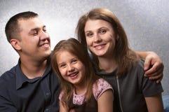 Family portrait Stock Images
