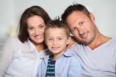 Family portrait Royalty Free Stock Photos