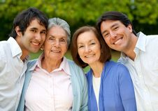 Family portrait Stock Images
