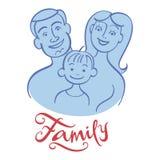 Family portrait Royalty Free Stock Photos