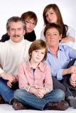 Family portrait royalty free stock photo
