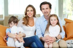 Family portrait Stock Photography