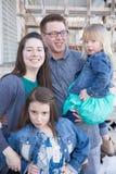 Family Portraits Stock Photography