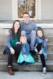 Family Portraits Stock Photo