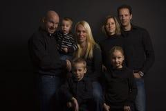 Family portret Stock Photos
