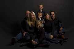 Family portret Royalty Free Stock Photography