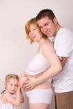 Family Pregnant Women Stock Photos
