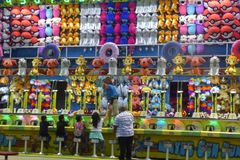 Fun and Games at the  Los Angeles County Fair. Royalty Free Stock Photos