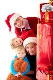 Family presents Stock Photos