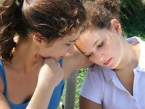 Family problems Stock Photography