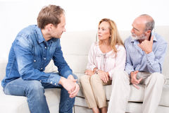 Family problems Royalty Free Stock Photography