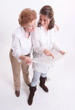 Family property investment Stock Photography