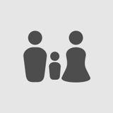 Family protect icon Stock Photo