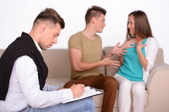 Family Psychologist Stock Photo