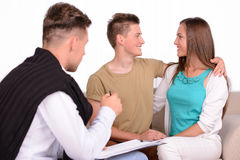 Family Psychologist Stock Photography