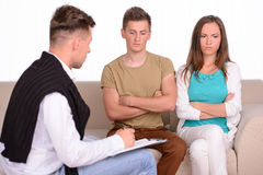 Family Psychologist Stock Image