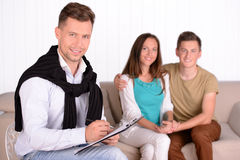 Family Psychologist Royalty Free Stock Images