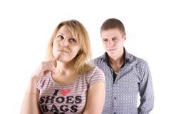 Family quarrel Royalty Free Stock Image