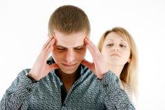 A family quarrel Royalty Free Stock Photography