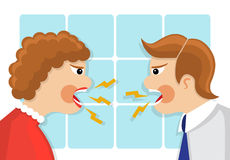 Family quarrel Royalty Free Stock Photo