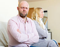Family quarrel Royalty Free Stock Photos
