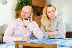 Family quarrel Stock Photos
