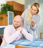 Family quarrel Royalty Free Stock Photo
