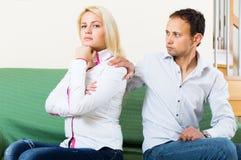 Family quarrel Stock Image