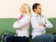 Family quarrel Stock Photography