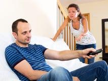 Family quarrel Royalty Free Stock Photography