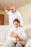 Family quarrel. Stock Photos