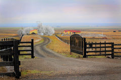 Family Ranch Royalty Free Stock Photography