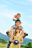 Family raw Stock Photography