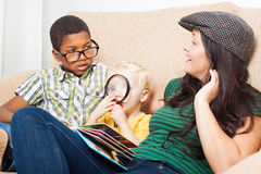 Family relax Royalty Free Stock Photography