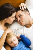 Family relaxing. Royalty Free Stock Photos