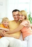 Family relaxing Royalty Free Stock Photo